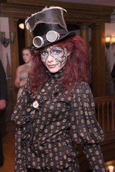 Steampunk Makeup by ravengrl14.deviantart.com