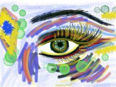 Eye. by recording artist Chakuna Machi Asa! #fashion #style #art http://www.infinitynaturals.com/moon-eye-ancient-healing-sounds/