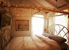 @Moon to moon, bohemian bedroom