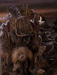 Junk lady: You can't look where you're going if you don't know where you're going...Sarah: I was searching for something... Jim Henson Labyrinth, Labyrinth Movie, Labyrinth 1986, Labrynth, Brian Froud, Where Do I Go, Fraggle Rock, The Last Unicorn, Goblin King