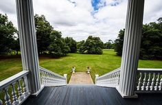 Front Porch Sitting at Redcliffe Plantation State Historic Site
