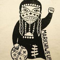 marichiweu mapuche - Buscar con Google Cool Nail Art, Vincent Van Gogh, Tattoo Inspiration, Fun Nails, Illustration Art, Illustrations, Google, Poster, Darth Vader