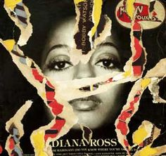 Mimmo Rotella, Diana Ross, 1974  decollage su cartone Billy Holiday, Montage Art, James Rosenquist, Billy Dee Williams, Lady Sings The Blues, Claes Oldenburg, High Fashion Models, Jasper Johns, Collage Art Mixed Media