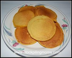 Easy Pumpkin Pancakes – Freezer Recipe