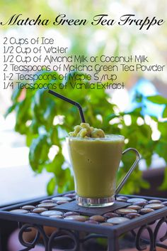 10 Reasons Why Everyone Is Raving About Matcha Green Tea (and recipe inside) – Delirium Style Matcha Green Tea Frappe Green Tea Detox, Green Tea Smoothie, Tea Smoothies, Fruit Smoothie Recipes, Matcha Frappe Recipe, Matcha Green Tea Frappuccino Recipe, Green Tomato Relish, Cucumber Tea Sandwiches, Tea Recipes