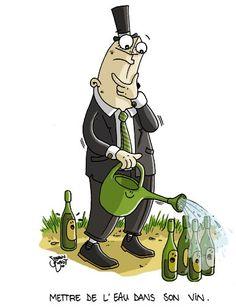Mettre de l'eau dans son vin/ didactique de l humour: http://hal.archives-ouvertes.fr/docs/00/86/69/86/PDF/humour_et_enseignement_pour_HALdoc.pdf