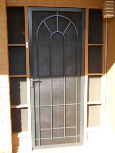 Best security doors you'll find in Melbourne. Specialised design of window grilles, security door mesh and handles. Contact them for your installation needs and be safe. Security Doors, Security Screen, Melbourne, Garage Doors, Windows, Screen Doors, Outdoor Decor, House, Strength