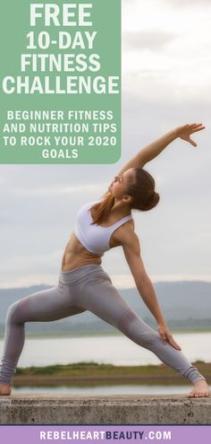 Beginner-friendly fitness tips to build healthy habits! These 10 steps are easy to add to your day, even when you're busy and don't have time. But they make a powerful impact to build a healthy lifestyle. Includes tips to start lifting weights, try yoga, eat clean, and get active. #beginnerworkouts #healthyliving #fitness #fitnesschallenge #2020goals #goalsetting #yoga #health
