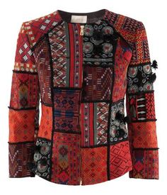H and M patchwork jacket