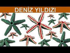 Come fare una stella marina Tulle Skirt Tutorial, Beaded Starfish, Peyote Beading, Bracelet Crafts, Beaded Ornaments, Peyote Stitch, Star Pendant, Beading Tutorials, Bead Weaving