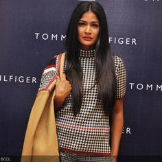 Carol Gracias at the launch of Tommy Hilfiger's Fall/Holiday collection, held in Chandigarh.