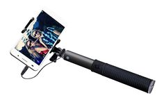 The NEW 2015 SENTAR Wired Connected Selfie Stick and Mini Tripod - Great stability in handling and long-lasting durability.