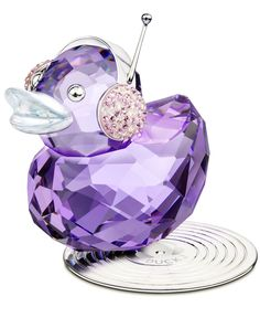 Swarovski Crystal Happy Ducks: Duck J