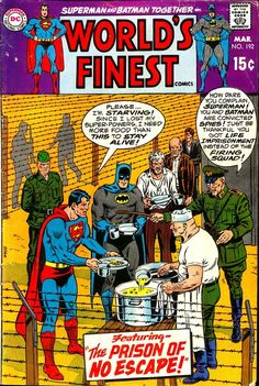 World's Finest Comics #192 March  1970, cover by Curt Swan and Murphy Anderson