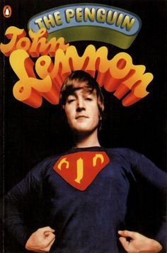 John Lennon book published by Penguin 1966,cover design by Alan Aldridge, photograph by Duffy.
