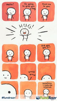 A donation is like a virtual hug... Can you feel the love? Raise money for a friend in need with fundrazr.com | #FundRazr