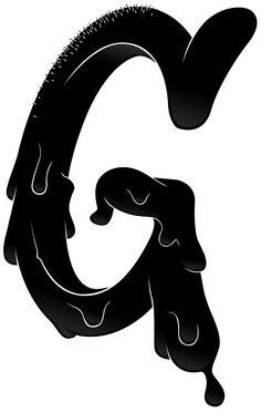 G:  Black Tar ALPHABATTLE – G — LetterCult