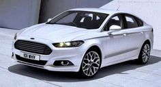 White Ford Mondeo Hatchback, 160HP. This will (DV) most probably be my next car, in 2017.