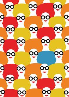 Olimpia Zagnoli é uma ilustradora italiana que tem estilo caracterizado por formas suaves, silhuetas e blocos de cores pop vibrantes. Conheça seu trabalho!