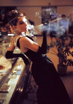 "gatabella: "" Audrey Hepburn, Breakfast At Tiffany's, 1961 """