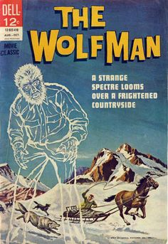 dell comics covers | THE WOLFMAN - DELL COMICS