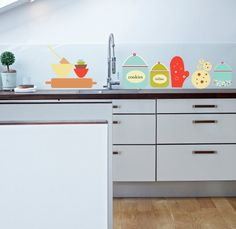 Wall Decal for Kitchen: Cookies and treats