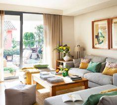 adelaparvu.com despre amenajare casa mica in tonuri naturale, design interior Carlos Baladia, Foto ElMueble (2)