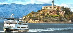 Alcatraz Island and Boat. (Pier 41) – but you will want to book this so you don't have to hang by the waterfront too long.