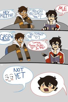Just some cute comic pictures of Klance    None of these pictures are… #random #Random #amreading #books #wattpad