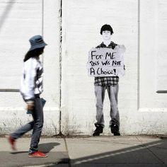 Fauxreel, The Unaddressed, Toronto - unurth Toronto Street, Social Stigma, Street Marketing, Guerrilla Marketing, Exhibition Booth, Exhibition Stands, Social Art, A Level Art, Subway Art