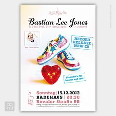 Poster | BASTIAN LEE JONES | 15.12.2013 – Update www.terrabeats.de