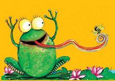 Frogs, frog art, Art Prints, Giclee Prints, Posters - Framed Art, Unframed Art