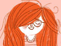 redhead by Lydia Nichols