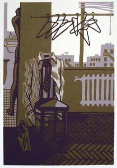 Natalia Moroz  'Room with No View', 2007 Linoleum Print Open Edition
