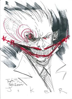 JOKER BY BEN TEMPLESMITH Comic Art