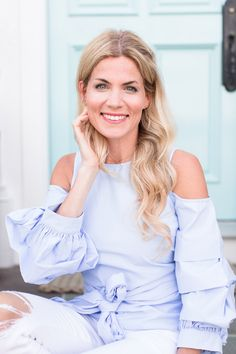 Cold Shoulder Ruffle Sleeve Top - Pure Joy Home