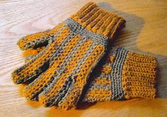 Ravelry: Mens Sideways Gloves pattern by Rose Powell