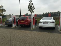Only Tesla Charing!