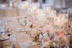 Blush and cream winter wedding at the Summit House in Fullerton » Flower Allie – Orange County Wedding Florist and Delivery for all Occasions
