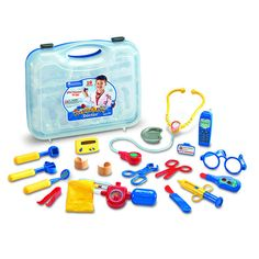 "This doctor kit features enough medical tools for a whole team of young ""doctors"" to play at the same time."