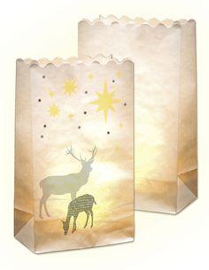 Mit unseren neuen Lichtertüten in vielen verschiedenen Designs zaubern Sie immer die richtige Stimmung. Egal ob drinnen oder draußen - damit wird es überall gemütlich. Mehr unter www.folia.de
