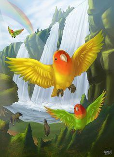 Animal Heaven commission
