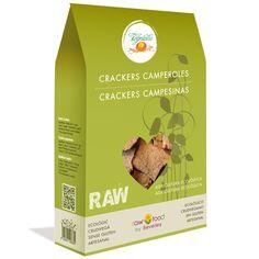 Crackers Campesinas - Raw Food www.rawfooddietforlife.com
