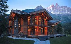 Шале в Альпах