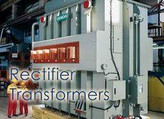Rectifier transformer used in aluminium plant.