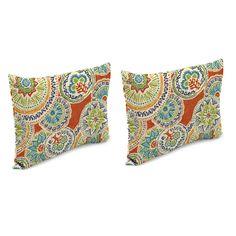 Bloomsbury Market Arlowene Outdoor Rectangular Pillow Cover & Insert | Wayfair
