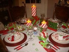 ideas for making your table sparkle and shine at your next holiday party.