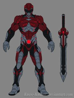 Red Ranger by Know-Kname.deviantart.com on @deviantART