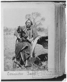 Comanche Indians Of Texas | Comanche Jack Watchymamsookwat, Indian Warrior] : The Portal to Texas ...