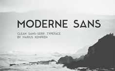 modern-sans